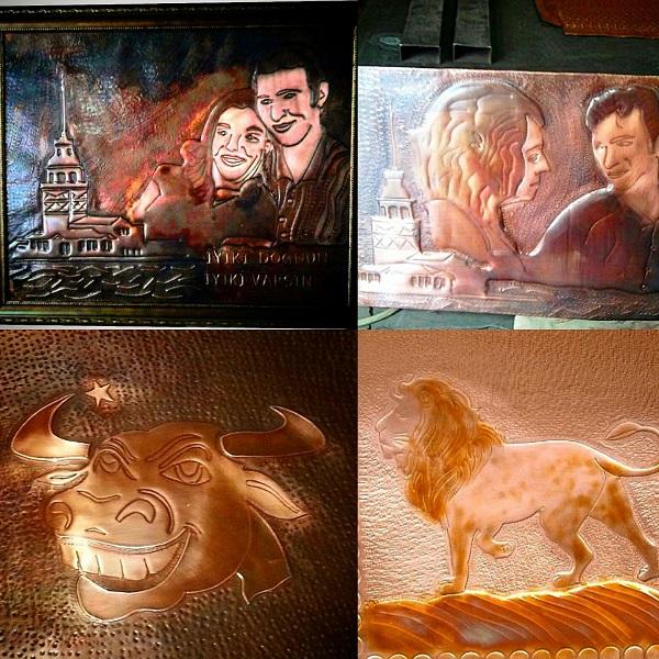bakır tablo sanat